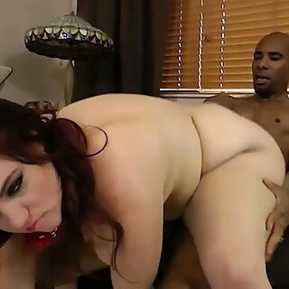 Interracial Sex With a Fat Whore