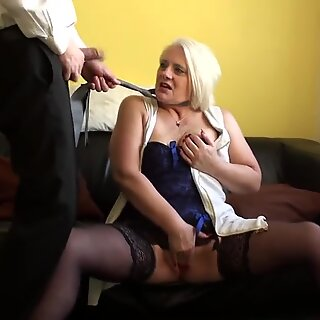 butt-banged uk gilf banged firm and facialized