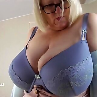 Teasing with tits and pussy