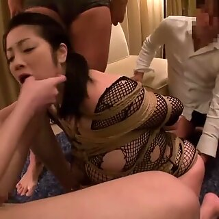 Extreme JAV bound free use blowjobs Minako Komukai Subtitled