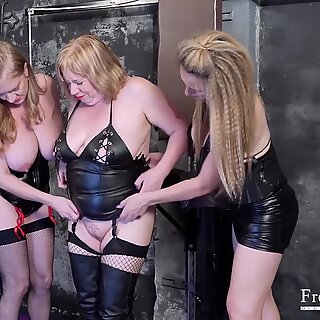 FrenzyBDSM Three Matures and Sex Toys