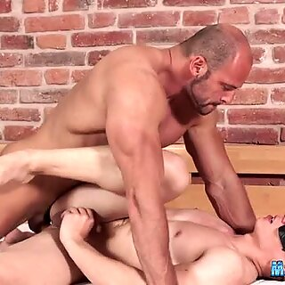 Gay porn with two hunks