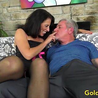 Mature Pornstar Keli Richards Has Passionate Sex with an Old Man
