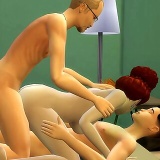 Me and My Dad Fucking My Mother Threesome Sex