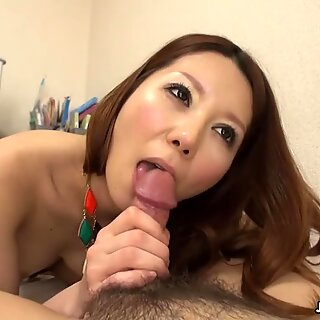 Hairy Japanese girl riding cockReport this video