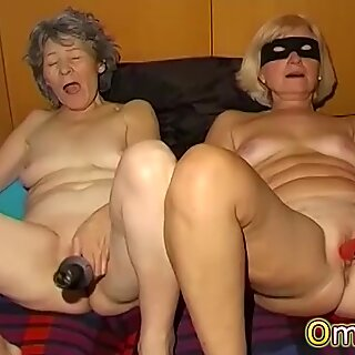 OmaPasS Amateur Old Granny Porn Solo Fun Video