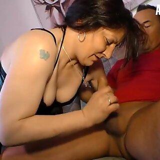 XXX Omas - Fat Old Granny Sucks And Rides Hard Cock Like a Pro