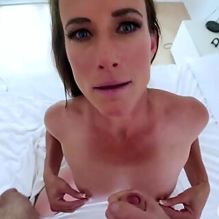 Grinding my stepmoms pussy when dad is not home