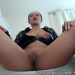 super-hot japanese domina PornbabeTyra and her reward!