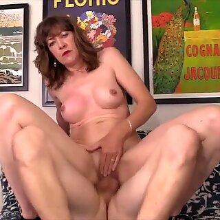 Golden Slut - Horny Older Cowgirls Compilation Part 16