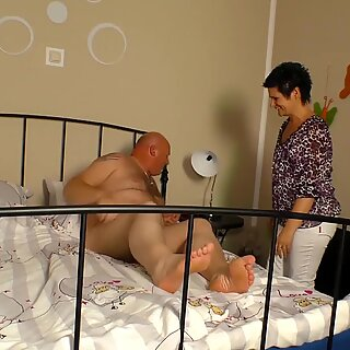 Mature German Wife Cheats With Her Boss - LETSDOEIT