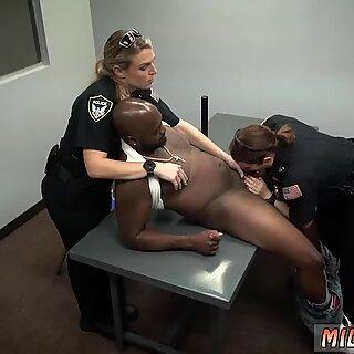 Black ankle socks and young amateur cumshot Milf Cops