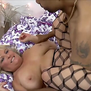 AgedLove Horny Alisha and Diamond Lou