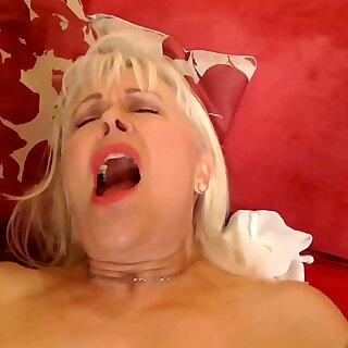 AgedLovE Mature Blonde Anne Hardcore Granny Fuck