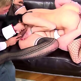 Mature mother ass-drilled hard and creampied