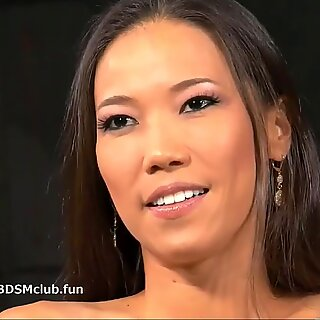 slave asian cutie's hatch fucked by authoritative master