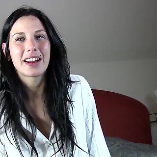 PUTA LOCURA Her first time on camera fucking